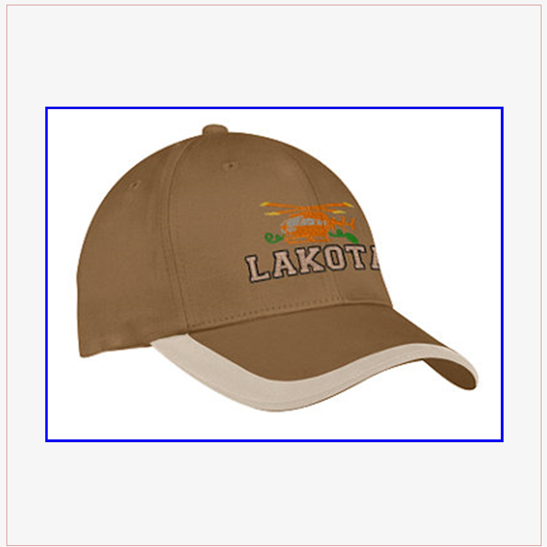 bd0cfd39 Contrast Stripe Sandwich Bill Cap - Choice of Design