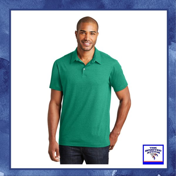•NEW• Meridian Cotton Blend Polo – Choose your logo