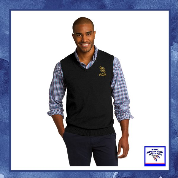 •NEW• V-Neck Sweater Vest – Choose your logo