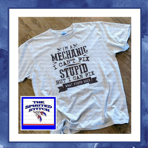 Vintage Funny Mechanic T-Shirt