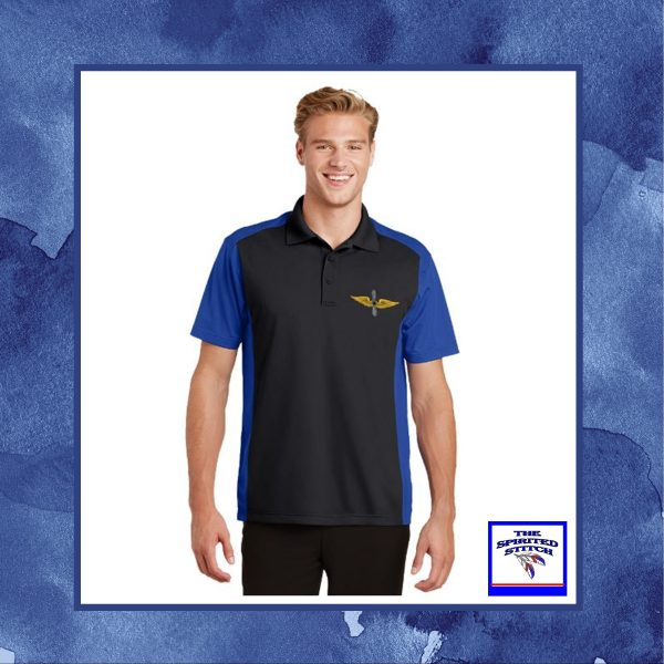 •NEW• Colorblock Micropique Sport-Wick Sporty Polo – Choose your logo