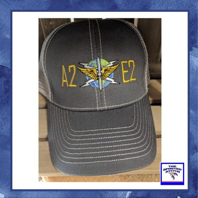 Modern Trucker Two Tone Hat – Choose Your Logo