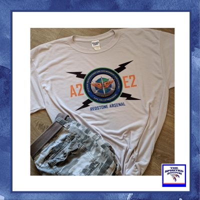 A2E2 Redstone Silver Short Sleeve T-Shirt