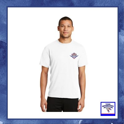 Logo'd White Short Sleeve T-Shirt – Soldiers First – Choose Your Logo