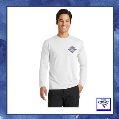 Logo'd White T-Shirt, Soldiers First – Long Sleeve – Choose  Your Logo
